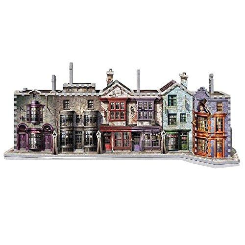 Star 3d Wars Puzzle - WREBBIT 3D Diagon Alley 3D Jigsaw Puzzle (450 Pieces)