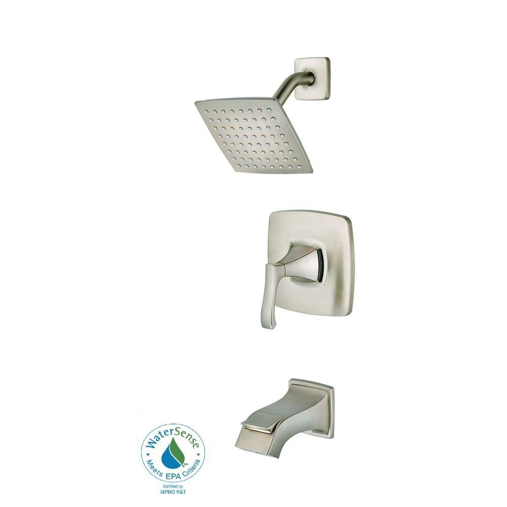 Pfister Venturi 8P8WSVNSK Single-Handle Tub and Shower Faucet in ...