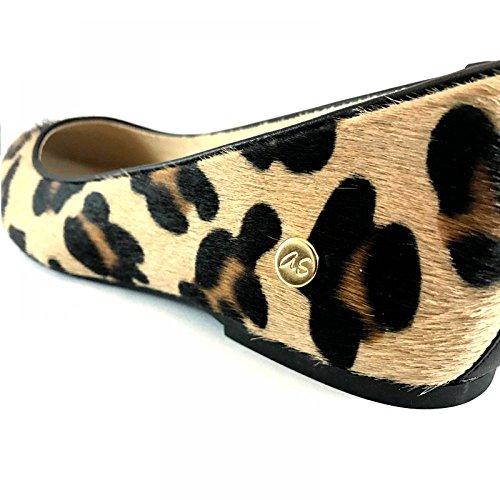Bailarina manoletina pelo leopardo Leopardo