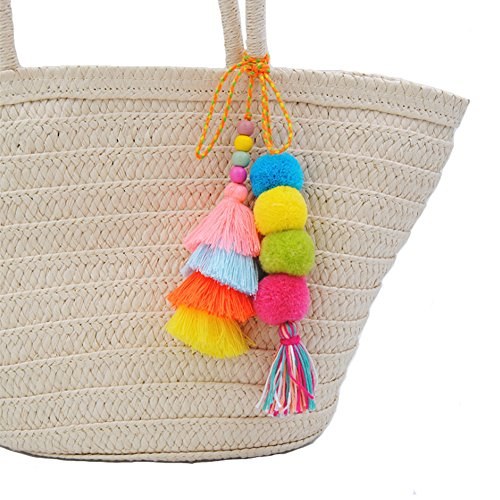 Best tassel decor tote bag 3 pieces list