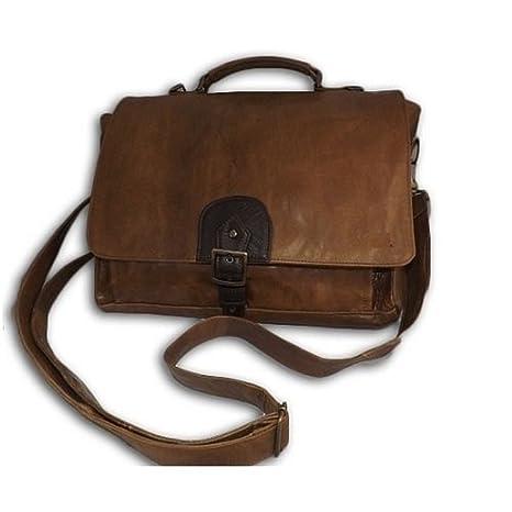comprare on line a2b11 a296b borsa tracolla in pelle cuoio 38Lx36Hx10P cm mod Borsa da ...