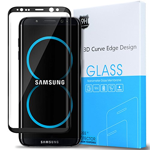 samsung galaxy s8 tempered glass screen protector. Black Bedroom Furniture Sets. Home Design Ideas