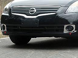 Fits 2007-2012 NISSAN ALTIMA 4-door -Stainless Steel Front Vent