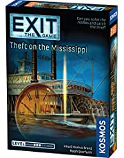 EXIT: Theft on The Mississippi – Card Games Adults and Kids - 1–4 Players – 1-2 Hours of Gameplay – Games for Family Game Night – Card Games for Kids and Adults Ages 12+ - English Version