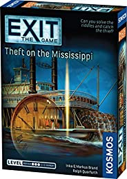Thames & Kosmos EXIT: Theft on The Mississippi | Escape Room Game in a Box| EXIT: The Game – A Kosmos Game