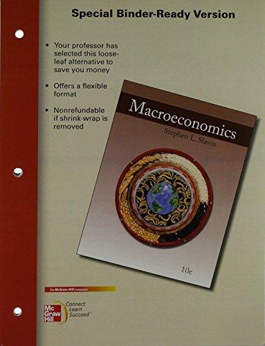Loose Leaf Macroeconomics with Connect Plus