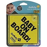 "1er cartel de seguridad ""Bebé a bordo"""