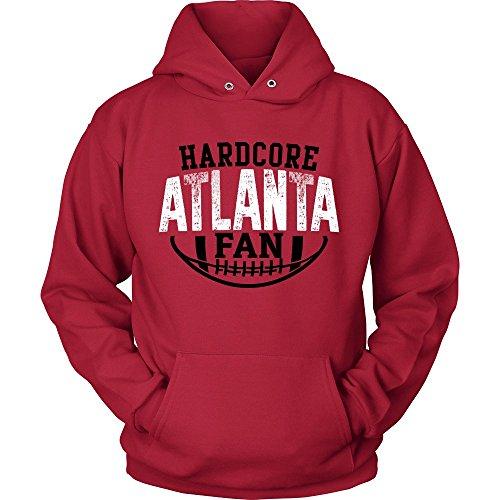 PassionLoft Hardcore Atlanta Football Fan Pullover ()