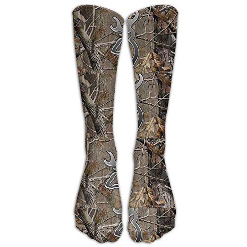 - Camouflage Realtree Knee High Graduated Compression Socks For Women And Men - Best Medical, Nursing, Travel & Flight Socks - Running & Fitness