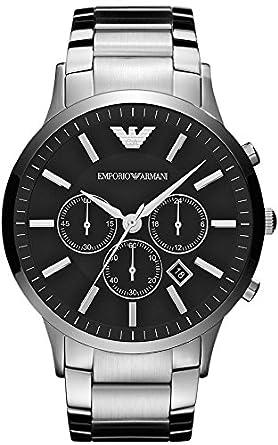 emporio armani mens watch ar2460 xl chronograph amazon co uk watches emporio armani mens watch ar2460 xl chronograph