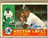 Autograph Warehouse 22631 Hector Lopez Autographed Baseball Card New York Yankees 1960 Topps No. 163