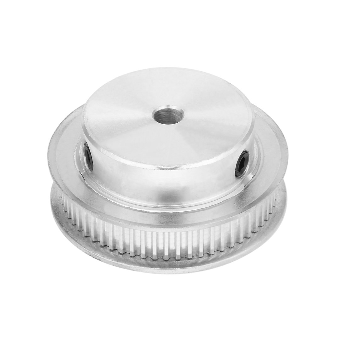 sourcingmap Aluminum MXL 30 Teeth 10mm Bore Timing Belt Idler Pulley Synchronous Wheel 6mm Belt for 3D Printer CNC