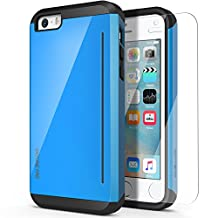 iPhone 5S Case,OBLIQ[Skyline Pro][Blue]HD Screen Protector Bumper Scratch Resist Dual Layered Heavy Duty Protection Case for Apple iPhone 5/5S