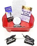 Ionic Ion Detox Foot Spa Detox Aqua Cleanse Chi Machine. 2 Stronger Super Duty Arrays FREE Reagin Health & Vitality Booklet & Brochure.