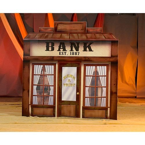 Shindigz Old West Bank & Trust Standee