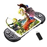 Bounabay Wireless Telescopic Bluetooth Controller Gamepad for Android System,Black