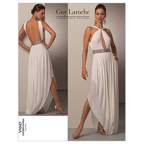 (Vogue Patterns V1047 Misses' Dress, Size AA (6-8-10-12))