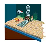 Lifegard Aquatics R440370 Underwater River with Air Pump Small