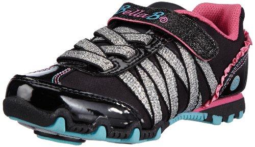 Skechers Girls' Bella Ballerina Prima Twirlie Girl,Black/Multi,US 11.5 (Skechers Kids Bella Ballerina)