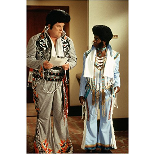 Elvis Has Left the Building Mike Starr as Sal and Phill Lewis as Charlie in Costume 8 x 10 inch photo ()