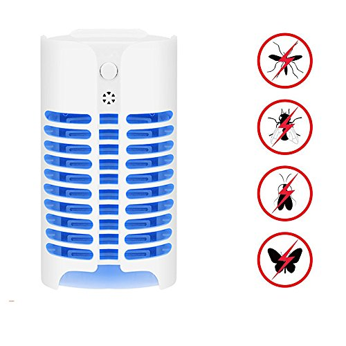 VASTINGART Indoor Insect Killer Mosquito Lamp with Light Sensor Plug-in Electric Insect Killer for Eliminating Most Flies Flying Pests Moths Gnats by VASTINGART