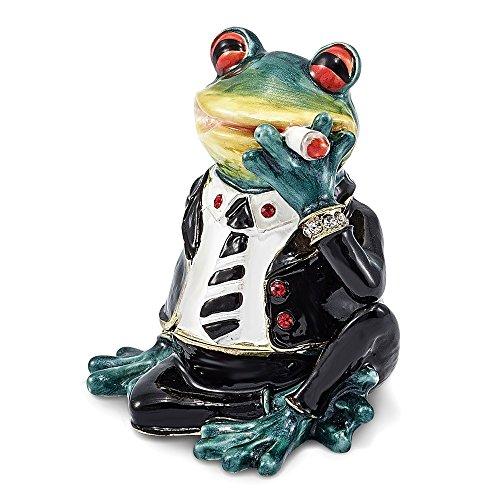 Enamel Frog Box - 8