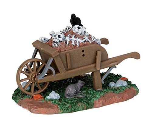 Lemax Spooky Town Scary Wheelbarrow # 54906