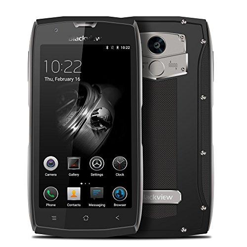 Blackview BV7000 Outdoor Smartphone 4G FDD-LTE 5.0 Zoll FHD Android 7.0 Quad-Core 2GB RAM+16GB ROM 8.0MP Kameras 3500mAh Fingerabdruckscanner GPS NFC IP68 Wasserdicht Shockproof Staubdicht