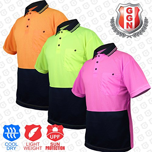 BIG BEE Mens Premium Fitted Short-Sleeve Contrast Color Stitching (Bee Fitted T-shirt)