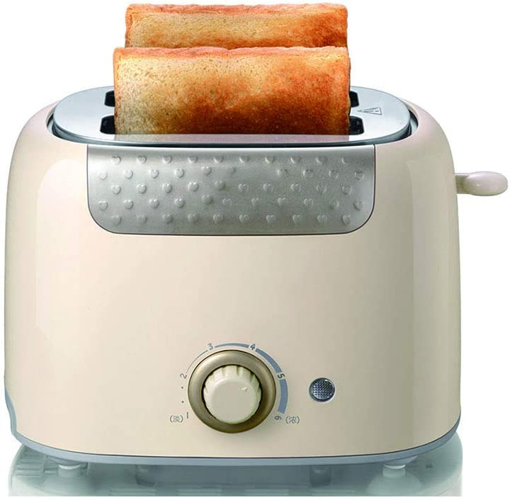 Toaster 2 Slice Stainless Steel Toaster Visible Glass Window with 7 Shade Settings and Bagel, Cancel, Defrost Function,Extra-Wide Slot Bread Toaster with Automatic Lifting,Removable Crumb Tray