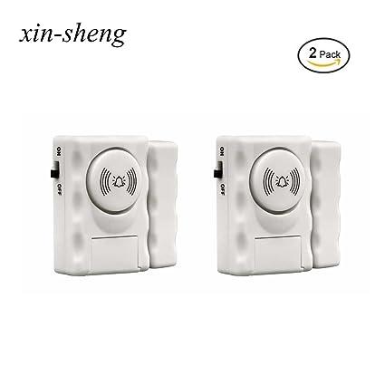 xin-sheng inalámbrico de alarma para puertas y ventanas ...