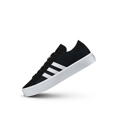 wholesale dealer e5bf7 af756 adidas Womens Originals Womens Court Vantage Trainers in Black-White - UK 9