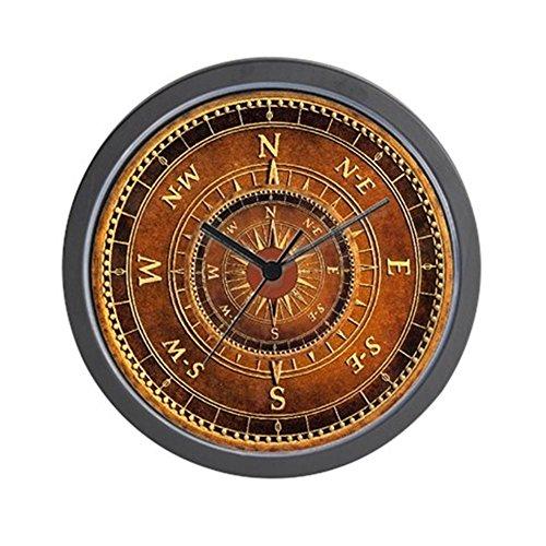 CafePress - Compass Rose In Brown - Unique Decorative 10