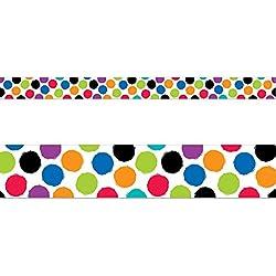 Creative Teaching Press Border Bold & Bright Colorful Spots (8342)