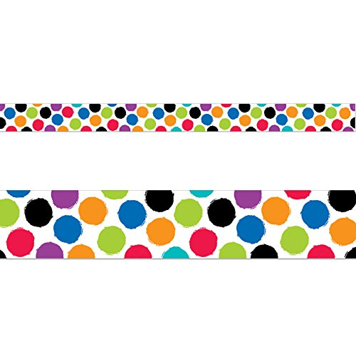 Creative Teaching Press Border Bold & Bright Colorful Spots (8342)