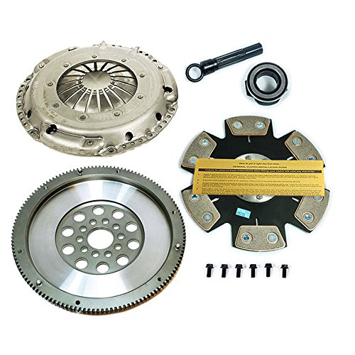(SACHS-EFT STAGE 4 DISC CLUTCH KIT & CHROMOLY MFLYWHEEL for VW CARS with VR6 MOTOR)