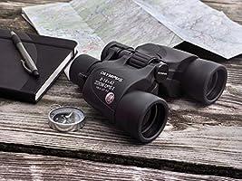 Prismáticos Zoom óptico 10x Color Neg Olympus 10x50 DPS-I Zoom óptico 10x