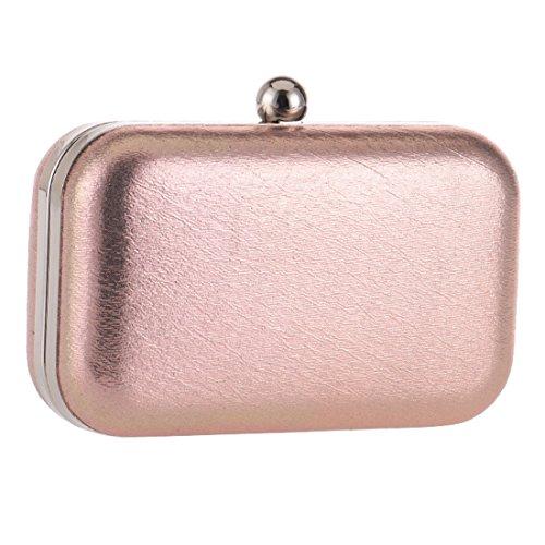 SSMK Evening Bag - Cartera de mano para mujer champán