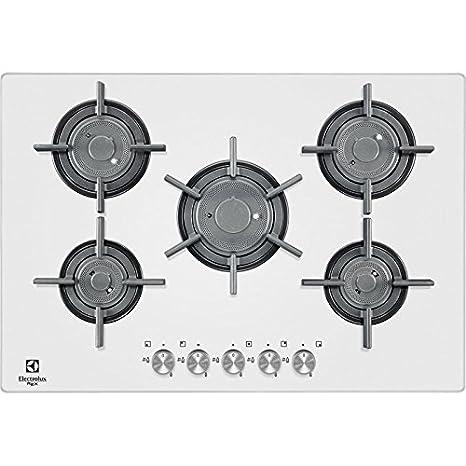 Electrolux PVF750UOB Incasso Gas Bianco piano cottura: Amazon.it ...