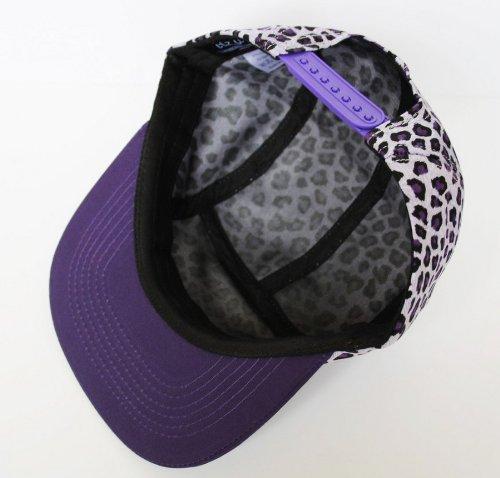 Itzu - Casquette de Baseball -  - Imprimé animal Femme Violet Violet