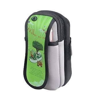 Fitness correr paquete brazo bolsa funda para teléfono Running - Tensiómetro de brazo móvil: Amazon.es: Deportes y aire libre