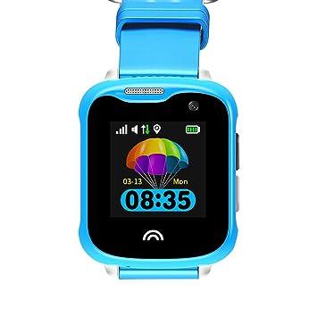 iBellete D7 - Reloj Inteligente multifunción con cámara GPS+LBS + ...