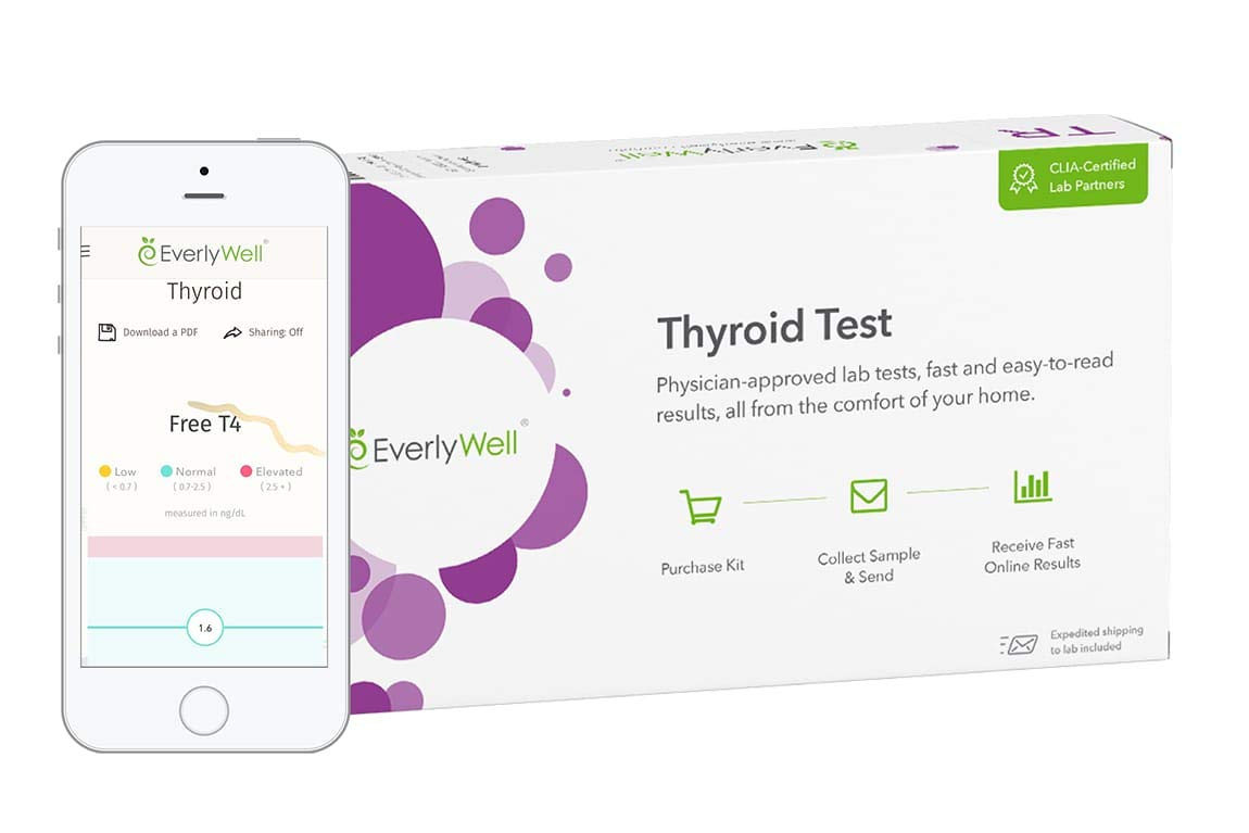 EverlyWell - Thyroid Test - As Seen On Shark Tank (Not Available in MD,NY, NJ, RI)
