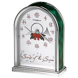 Howard Miller 645-687 Sounds of the Season Christmas Clock