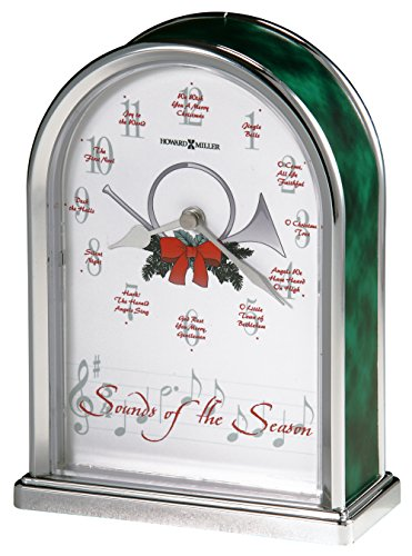Howard Miller 645-687 Sounds of the Season Christmas Clock - Clock Marble Arch