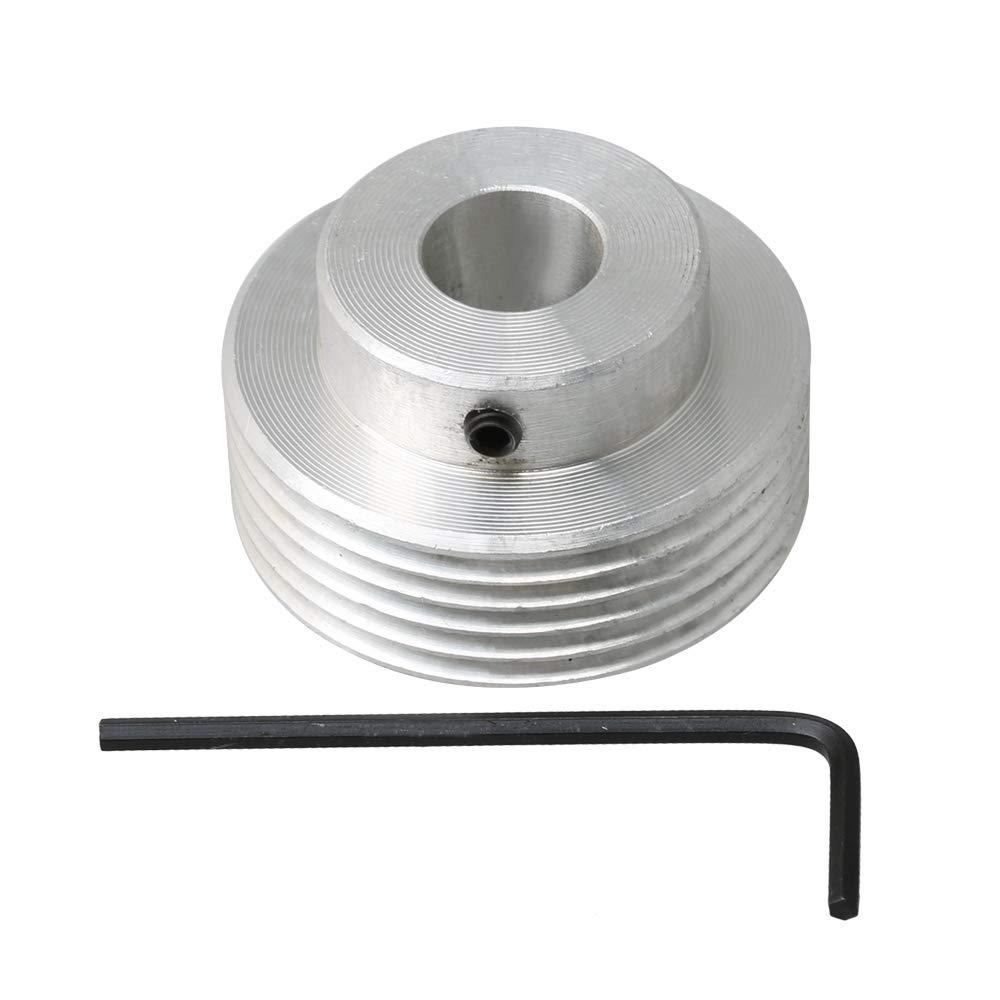 BQLZR Polea de transmisión de polea de aluminio multiacanalado ...