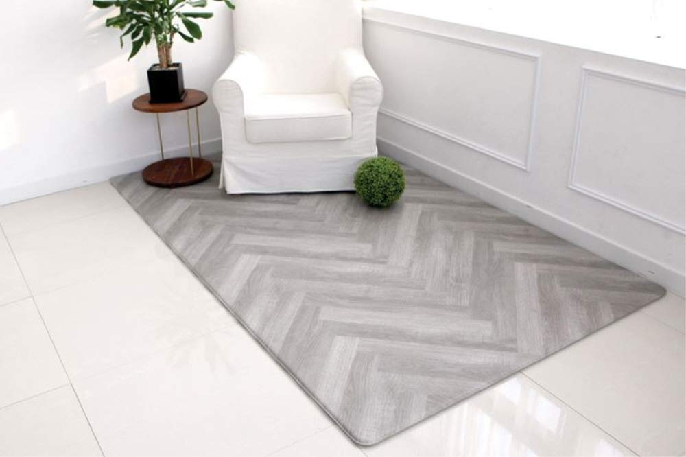 Airliz premium Graywood living room mat 層間騒音防止保育園マットリビングマット(海外直送品) (140x100x1.4cm) B07NNJ1XMP 140x200x1.4cm  140x200x1.4cm