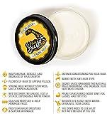 Buck's Burley Hair Styling Cream for Men   Strong