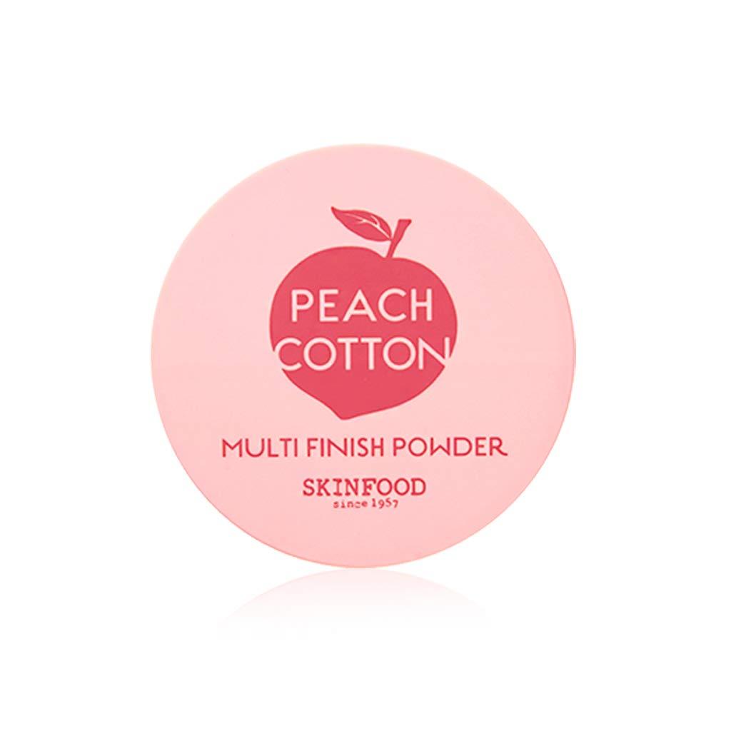 SKINFOOD Peach Cotton Multi Finish Powder, 15 Gram by SKIN FOOD since 1957 (Image #1)