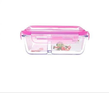 LQYSHOP Cajita Rosa Resistente al Calor, Caja de Almuerzo de ...